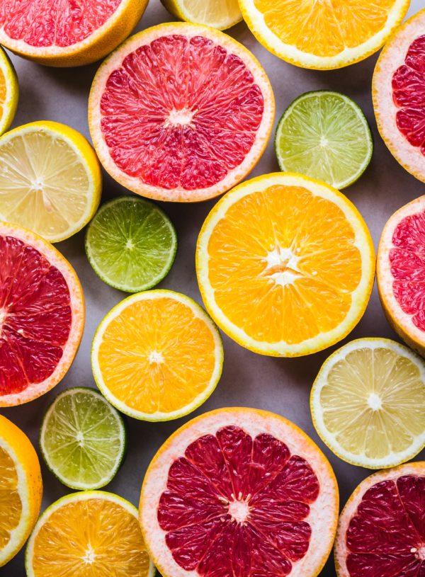 limes, lemons, oranges, grapefruit