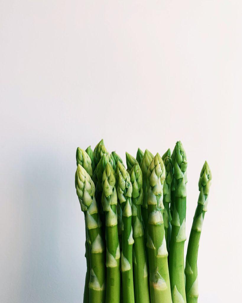 pegan diet asparagus