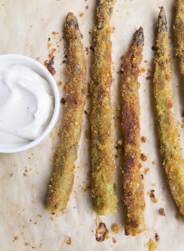 Crispy Asparagus Fries so good…you might eat them all!