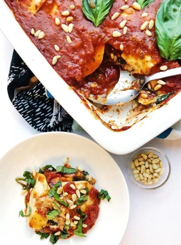 Epic Vegan Lasagna with Celeriac 'Noodles'