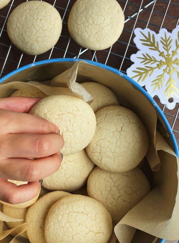 Easy Vegan Shortbread Cookies (Gluten Free)
