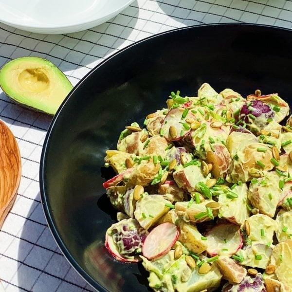 Avocado Ranch Potato Salad