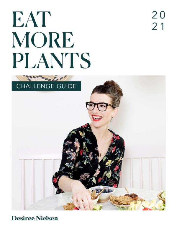 eat more plants 2021 challenge