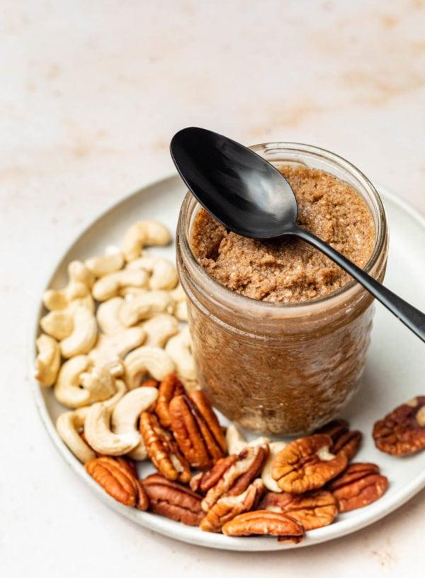 Healthy Homemade Cinnamon Sugar Nut Butter