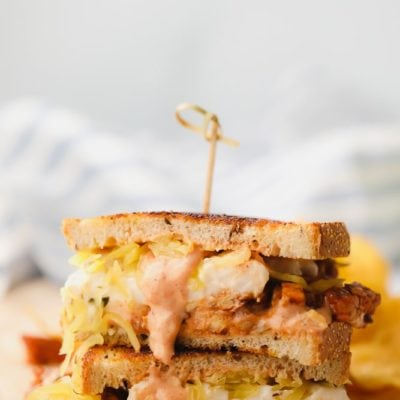 Nora Cook's Tempeh Reuben Sandwich