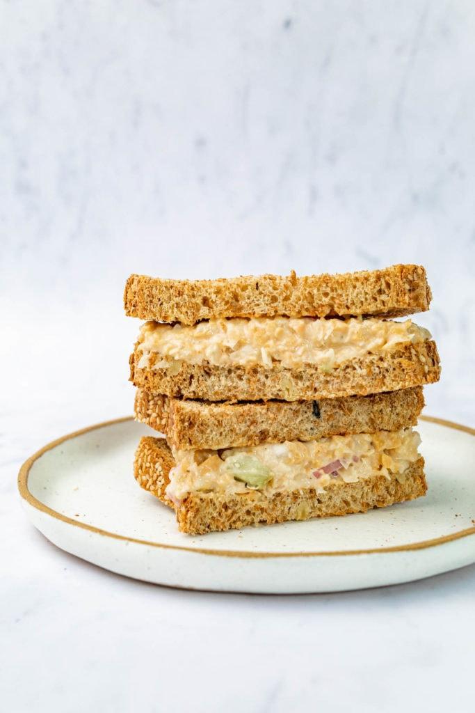 Registered Dietitian Desiree Nielsen's Chickpea Sandwich Recipe